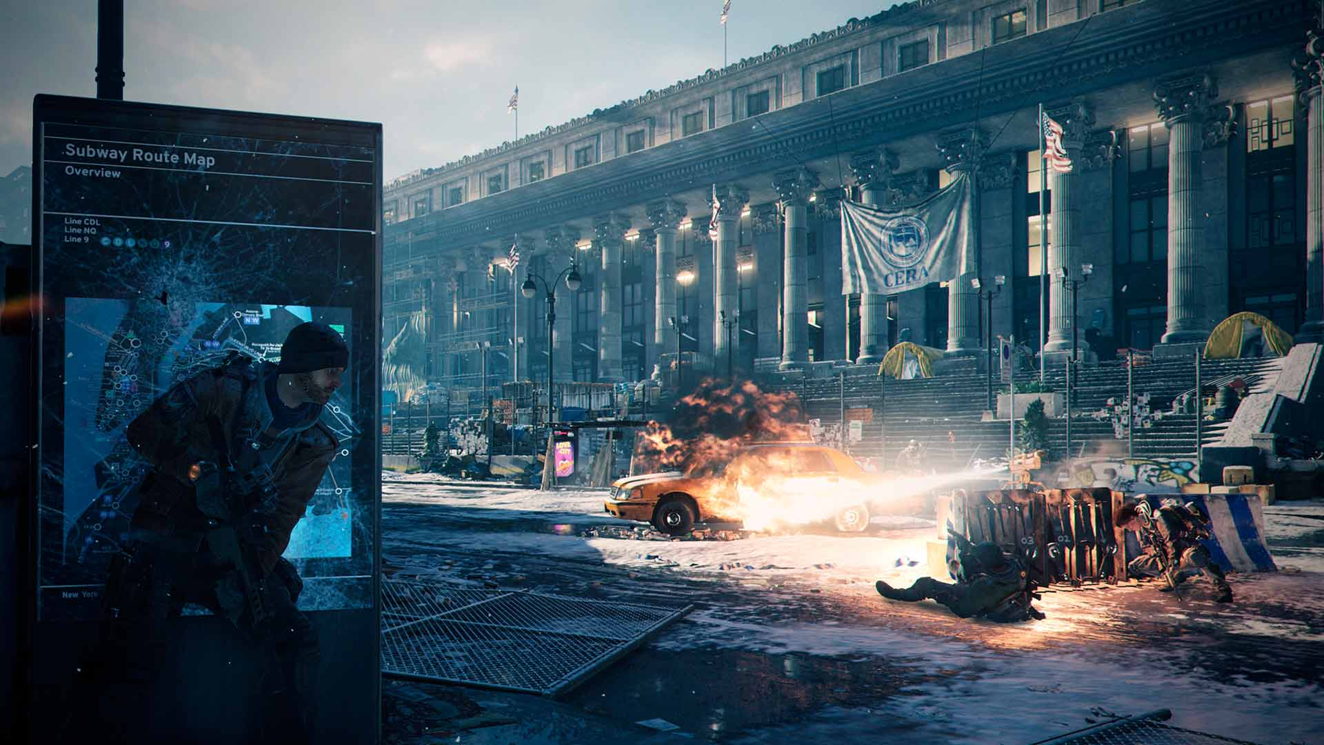 Скриншот к игре The Division