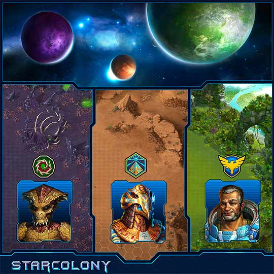 скриншоты игры Star Colony