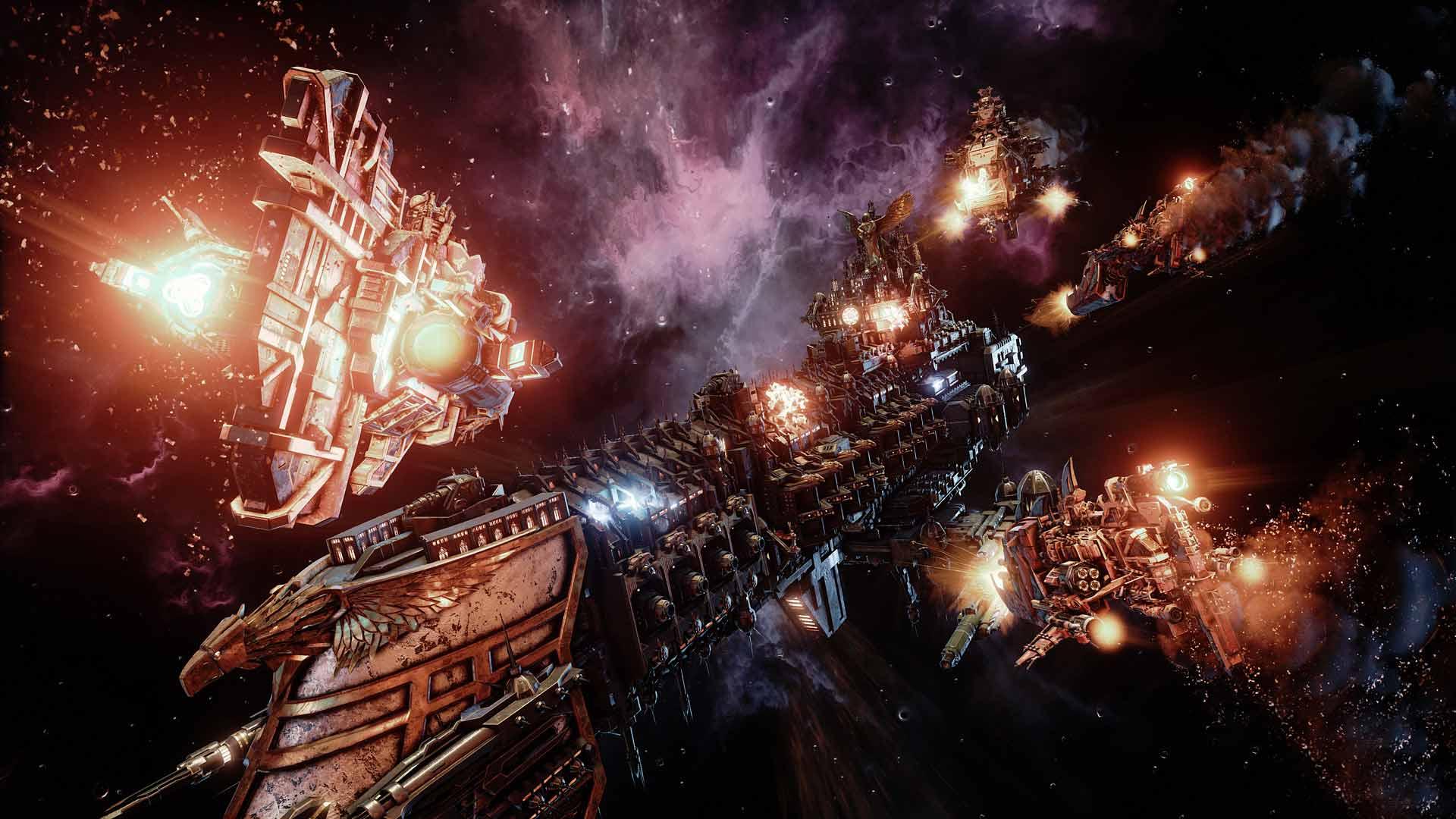 Скриншот к игре Battlefleet Gothic