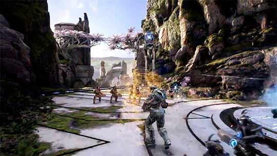 скриншоты к игре Paragon