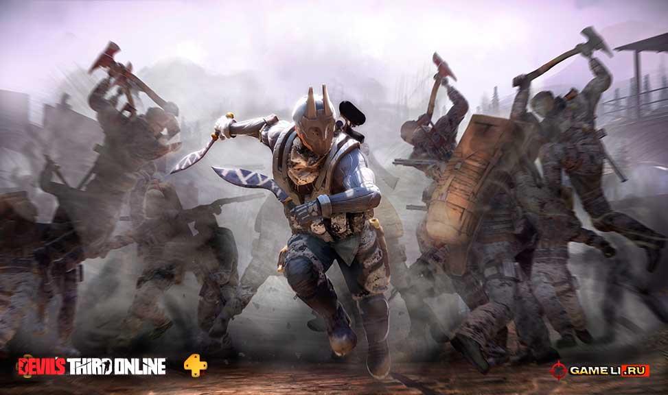 Скриншот к игре Devil's Third Online