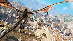 Bless Online - полет дракона