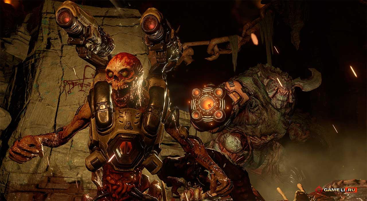 Скриншот к игре Doom - 2016