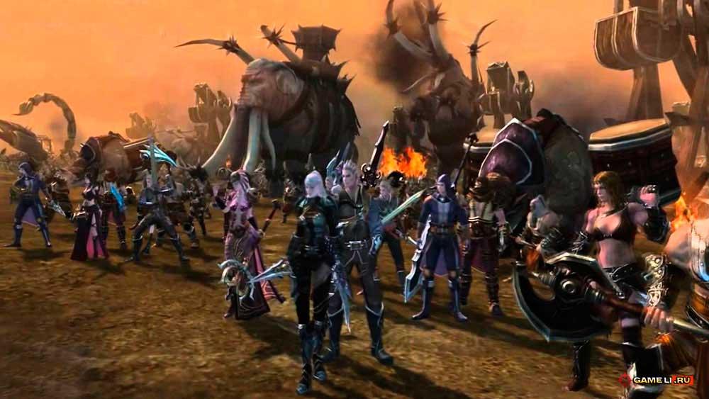 Скриншот к игре Titan Siege