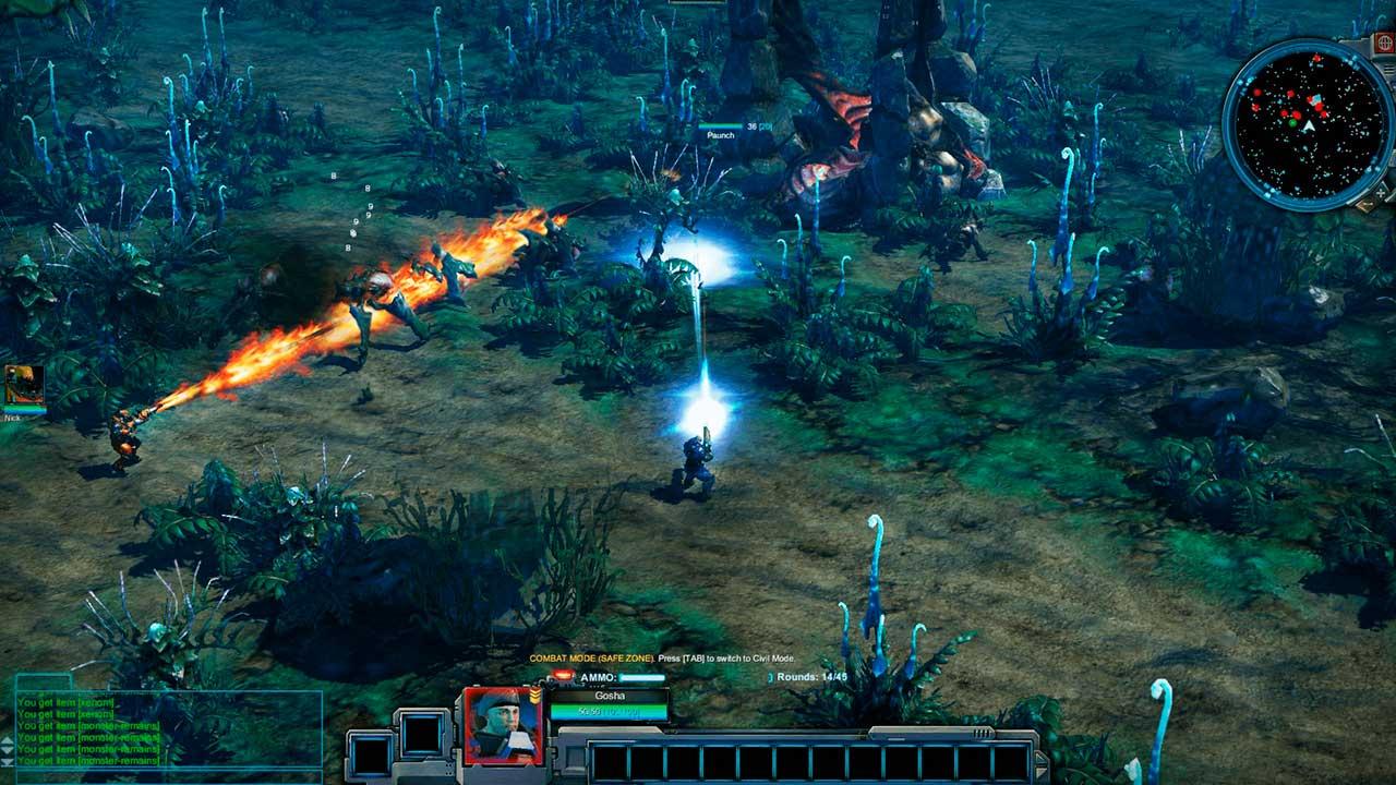 Скриншот к игре Сolonies Online