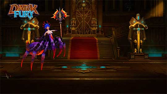 Dark Fury - скриншот игры