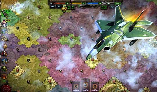 Конфликт: Искусство войны - карта