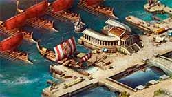 Спарта: Война Империй - гавань