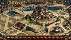 Спарта: Война Империй - замок