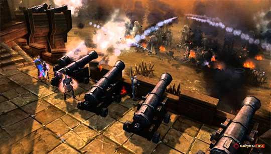 Titan Siege - осада замка
