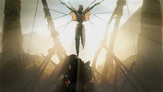 Hellblade - распятие