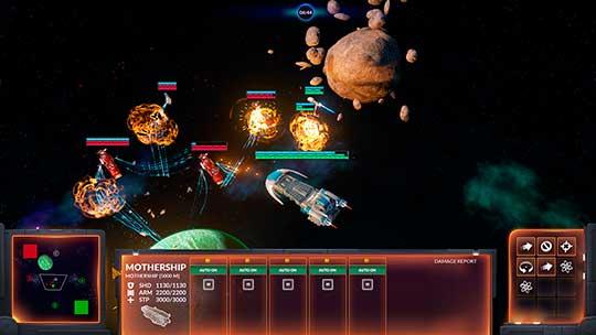 Starfall Tactics скриншоты