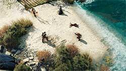 Divinity: Original Sin 2 - бой на пляже