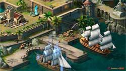 Ocean Wars - порт