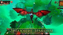 Кольцо дракона - летающие драконы
