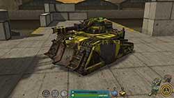Ultimate Tank Arena - прокаченный танк