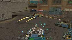 Ultimate Tank Arena - бой