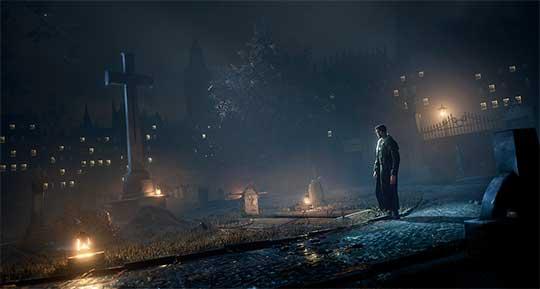видео трейлере к игре Vampyr