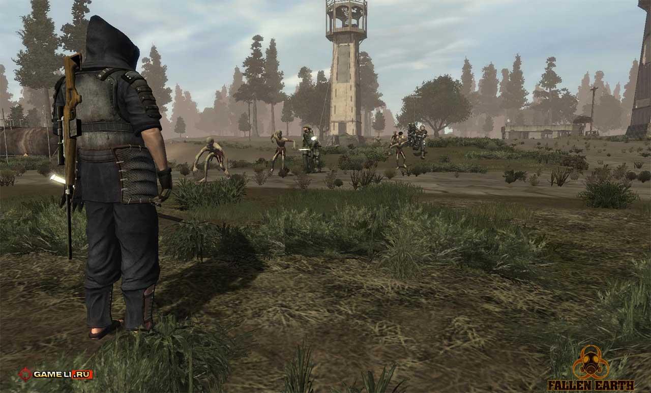 Скриншот к игре Fallen Earth