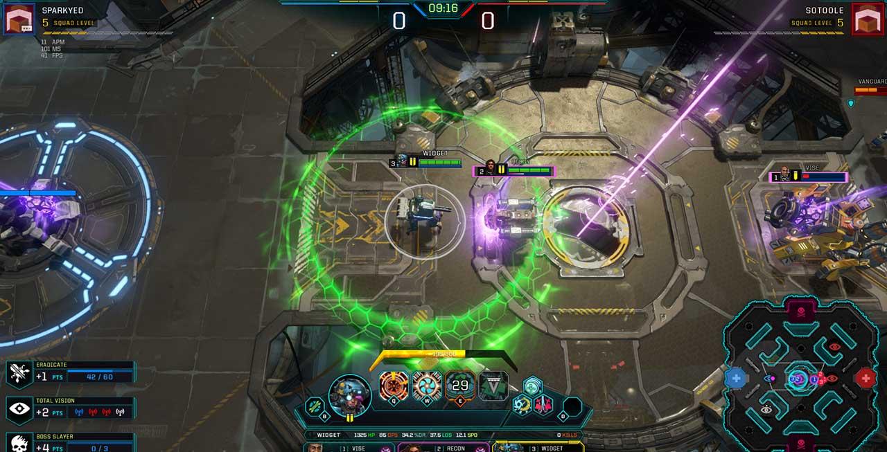 Скриншот к игре Dropzone