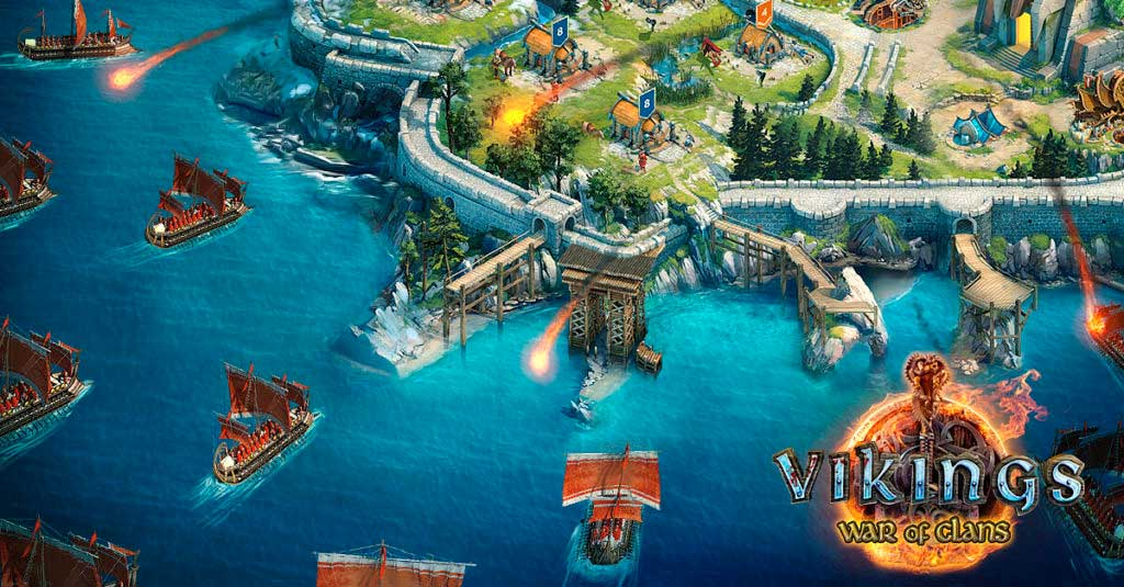 Vikings War of Clans видео обзор на русском