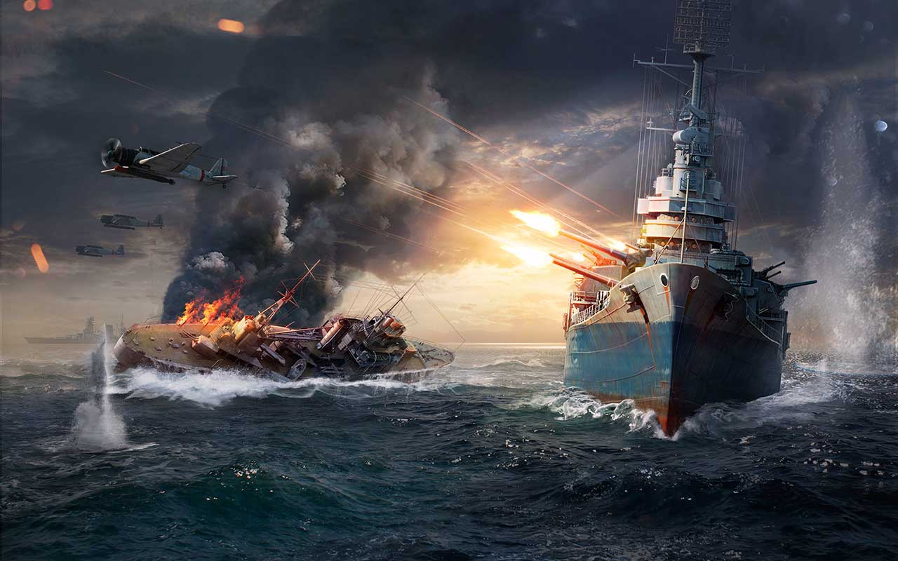 Скриншот к игре World of Warships