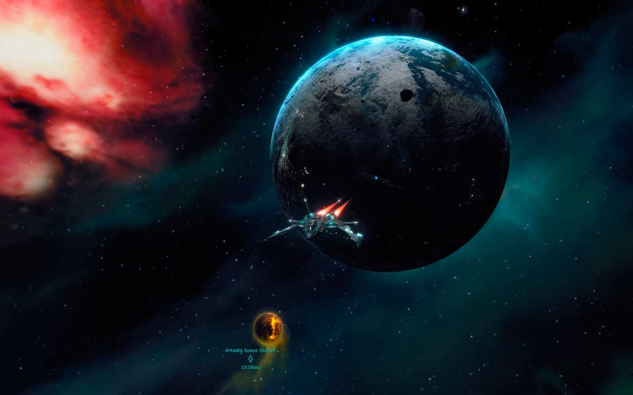 Скриншот к игре Entropia Universe