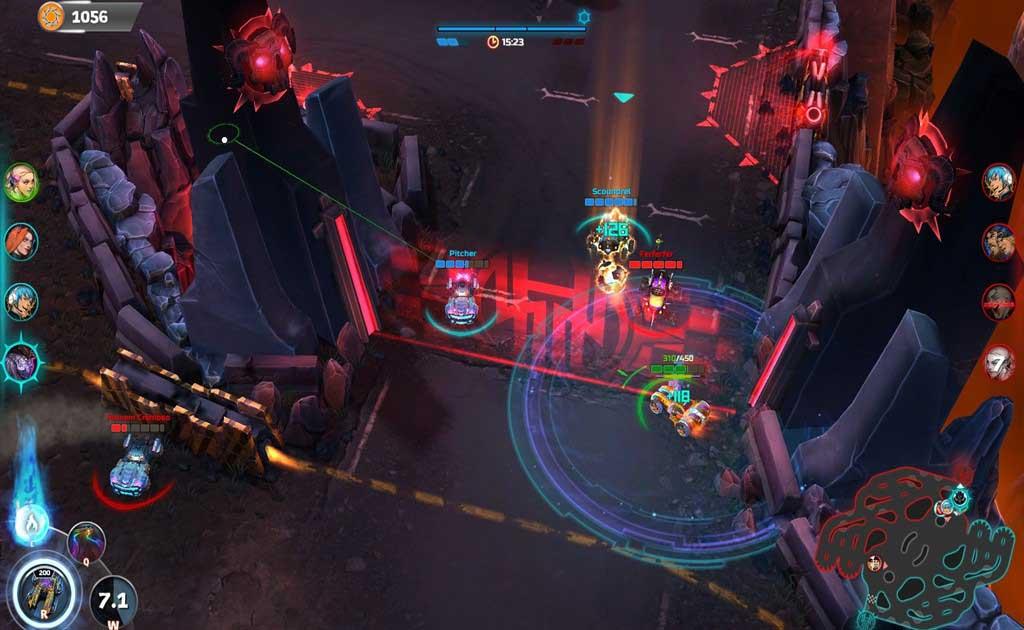Скриншот к игре Heavy Metal Machines