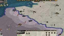 Call of War - вид с карты