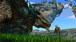 icarus - скриншот игры - приучил маунта дракона