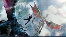 icarus - скриншот игры - оседлать дракона