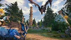 icarus - скриншот игры - мир драконов