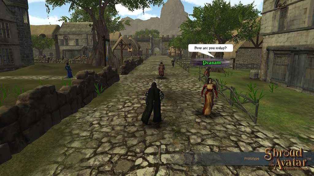 Скриншот к игре Shroud of the Avatar