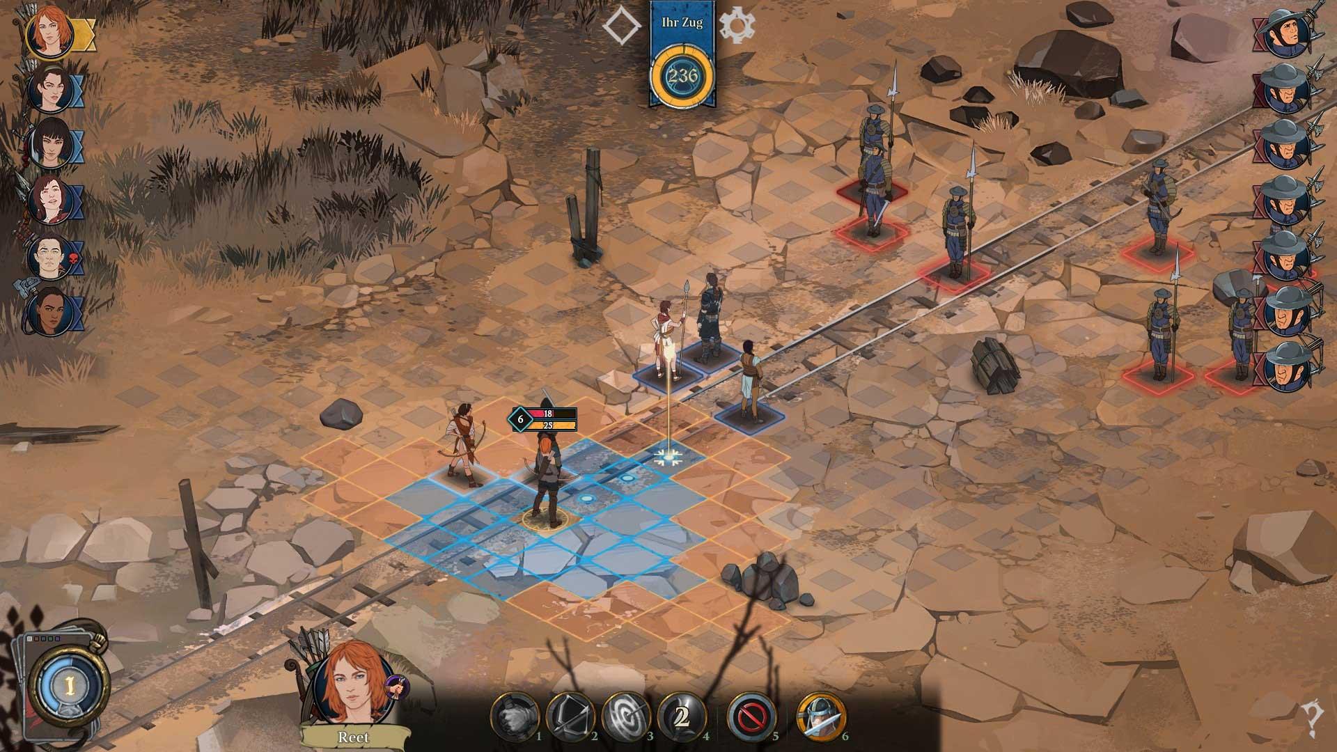 Скриншот к игре Ash of Gods