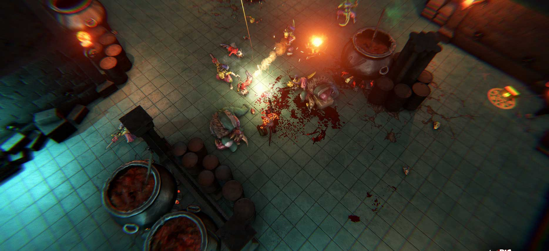 Скриншот к игре Big Drunk Satanic Massacre